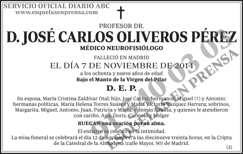 José Carlos Oliveros Pérez